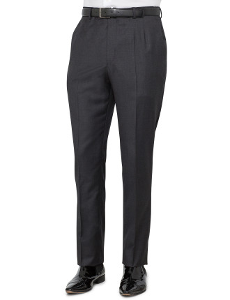 Wool Serge Plain Trouser