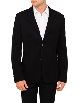 2b Sb Cv Visc/Elast Jersey Deco Blazer