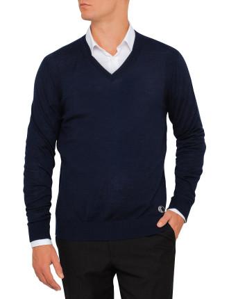 V700435 VK00014 V Neck Sweater