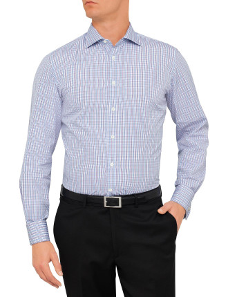 758P Mod Graph Check Shirt
