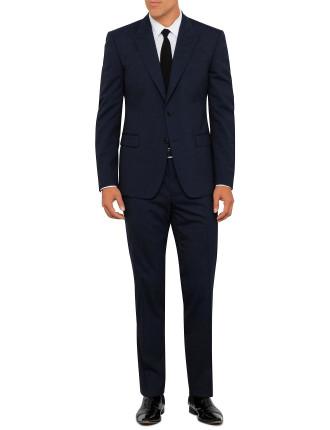 V100085 VT00817 Wool Blend End-on-End Peak Suit