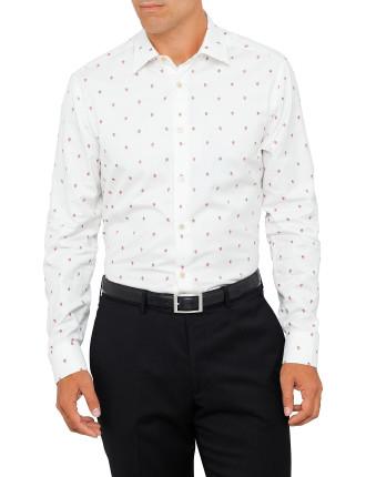 659A Strawberry Jaquard Shirt