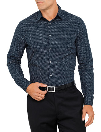 659A Geo Neat Print Shirt