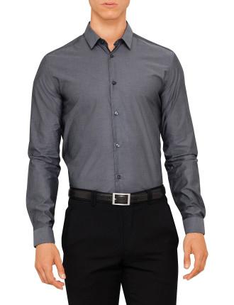 V300197 VT00905 Cotton Pinpoint Chambray Shirt
