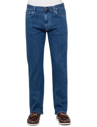 91700 PD0018 Cotton Elastane Denim Jeans