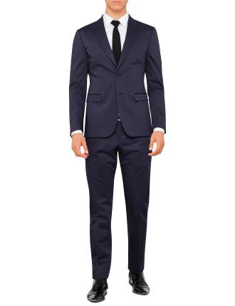 P39027 Cotton/Elastane Sateen Peak Suit