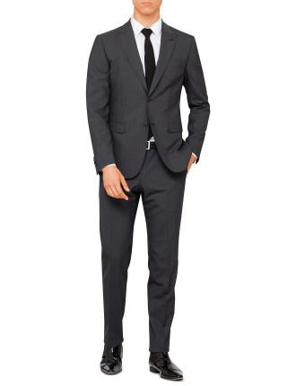 P39027 Wool/Elastane Texture Suit