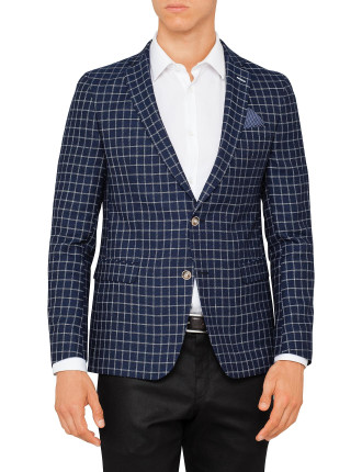 Star 6292 Wool/Linen Check Jacket
