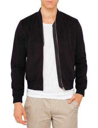 700P Wool/Cashmere Bomber Jacket