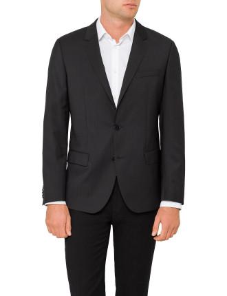 C-Huge 1 S Wool Slim Jacket