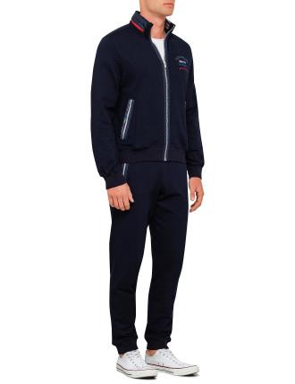 Jogging Suit With Contrast Trim