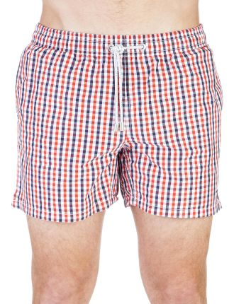 O.P. Gingham Swim Boxer