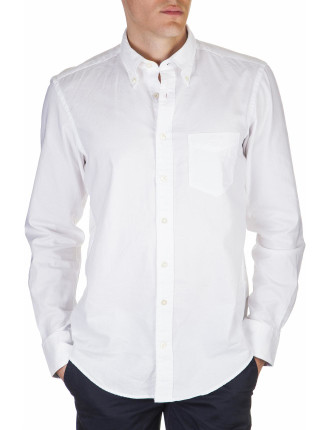 Oxford Long Sleeve Button Down Shirt