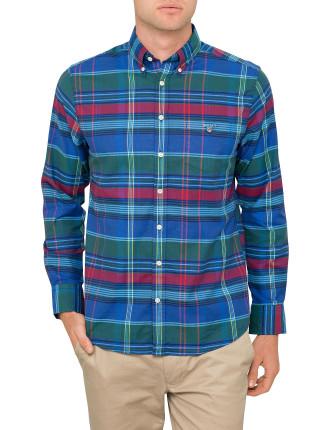 Comfort Oxford Big Plaid Shirt