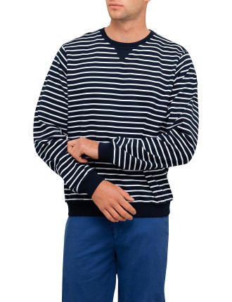 Cn Stripe Logo Sweat