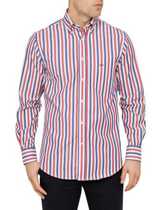 3 Colour Stripe Shirt