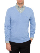 Light Weight Lambswool V-Neck Knit $99.50