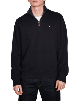 Sacker Rib Half Zip Collar