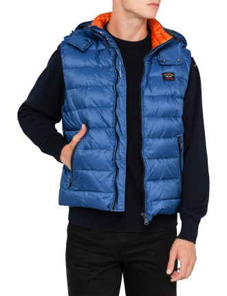 Quilt Vest With Hood