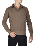 Sacker Rib 2 Button Collar Sweat $199.00