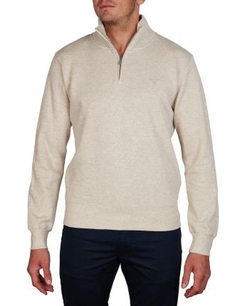 SACKER RIB HALF ZIP