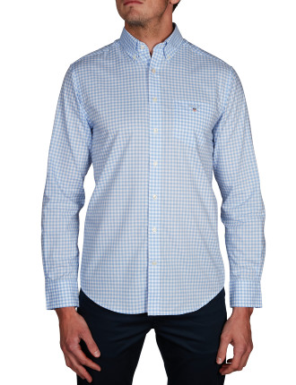 THE POPLIN GINGHAM REG BD