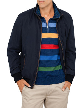 Blouson With Contrast
