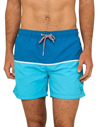 Cut & Sewn Swim Shorts C.F.