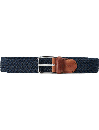 Solid Elastic  Braided Belt