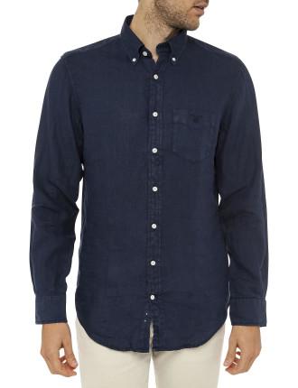 The Linen Shirt Ls Bd