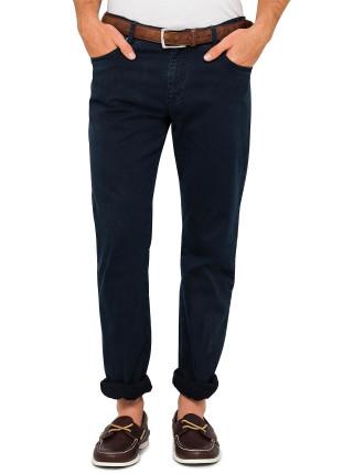 5 Pocket Logo Trouser