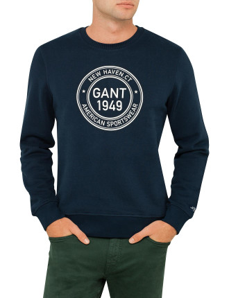 Gant 1949 Crew Neck Sweat