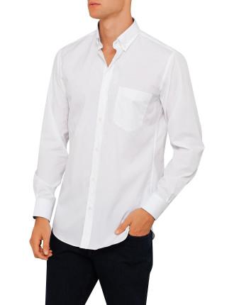 Long Sleeve Solid Yahting Bd Shirt