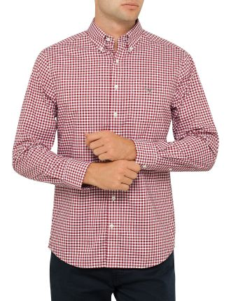 The Poplin Gingham Check Shirt