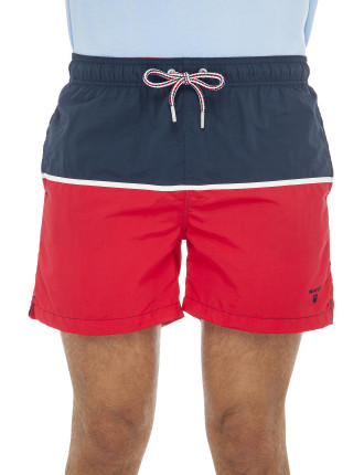 Cut & Sewn Swim Shorts C.F.