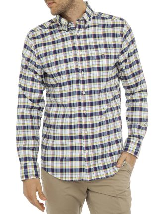 Comfort Oxford Plaid Reg Bd