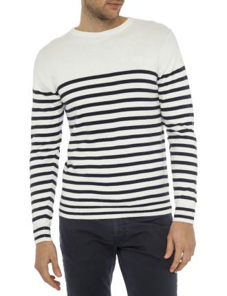 Breton Crew Knitwear
