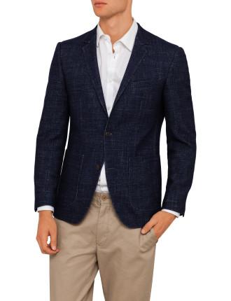 Wool Pol Patch Pocket Jacket