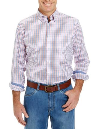 Easy Care Detail Check Shirt