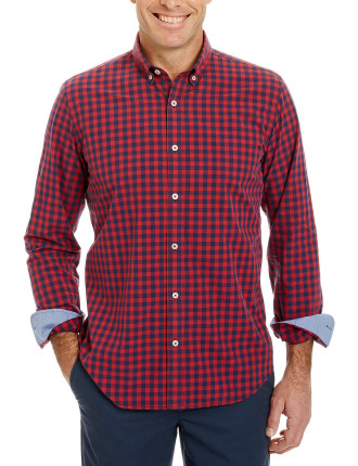 Tailored Fit Casual Box Check Shirt