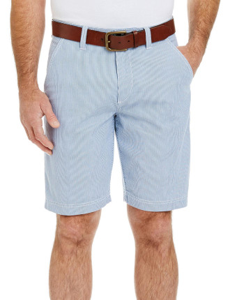 Dobby Stripe Short