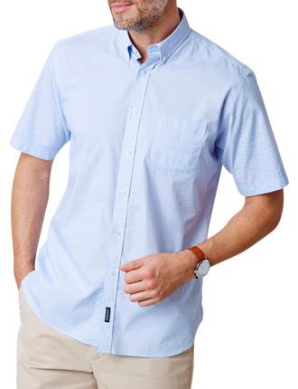 Casual Geo Print Shirt