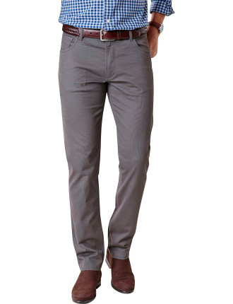 TAPERED STRETCH BEDFORD CORD