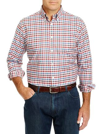 Easy Care Long Sleeve Check Shirt