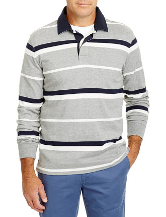 Long Sleeve Stripe Rugby