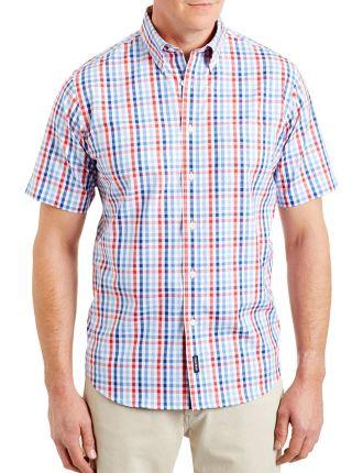 Easy Care Oxford Multi Check Shirt