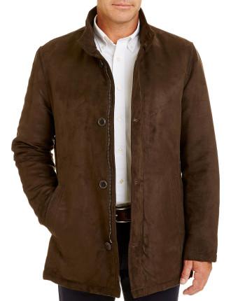 Suede Touch Overcoat