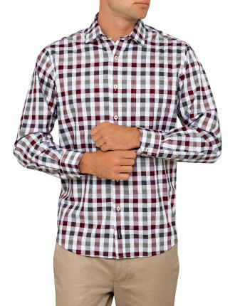 Easy Care Box Check Shirt