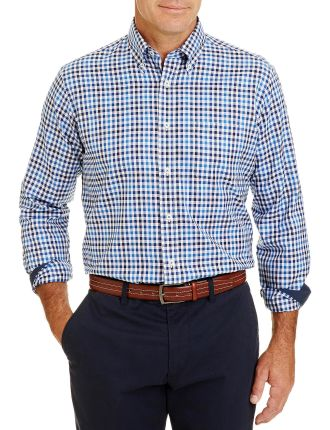 Easy Care Twill Check Shirt