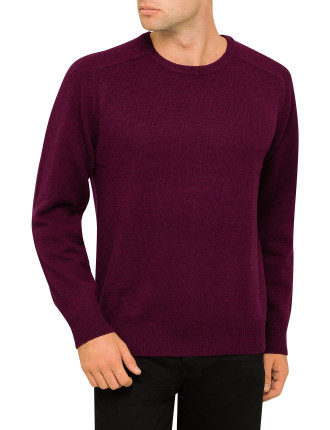 Lambswool Crew Neck Knit